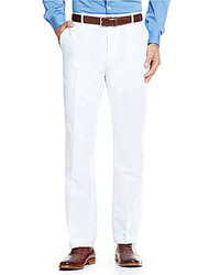 Perry Ellis Solid Linen Pants