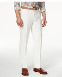 Tallia Slim Fit Linen Dress Pants