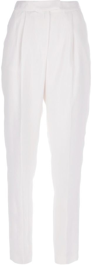 Giambattista Valli Tapered Silk Trouser