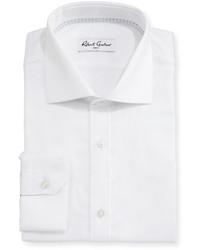 Robert Graham Amos Textured Dress Shirt White