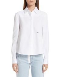 Off-White Back Foulard Shirt