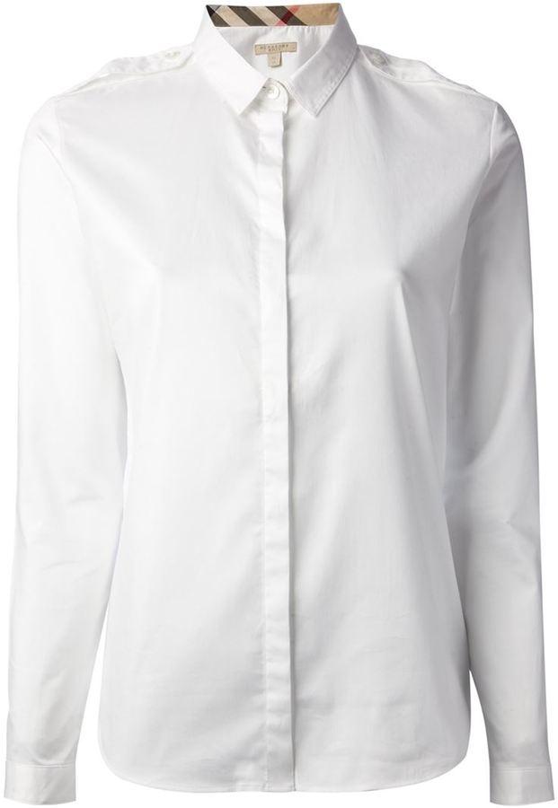 e78e40d991b71 Burberry Brit Classic Shirt, $186   farfetch.com   Lookastic.com