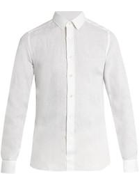 Valentino Button Cuff Linen Shirt
