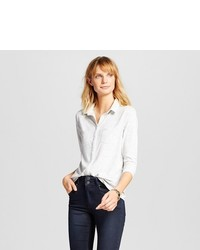 Merona Button Down Top