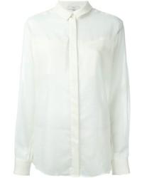 Chest pocket sheer shirt medium 558931