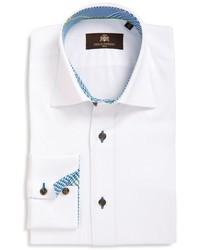 Circle Of Gentle Raleigh Trim Fit Solid Dress Shirt