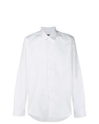 Salvatore Ferragamo Classic Curved Hem Shirt
