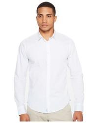 Scotch & Soda Classic Long Sleeve Shirt In Crispy Poplin Quality Clothing