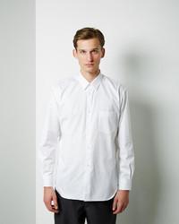 Comme Des Garons Shirt Man Cotton Poplin Oxford Shirt