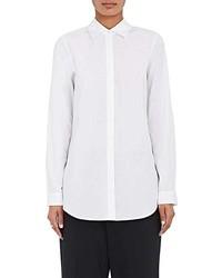 Barneys New York Cotton Button Vent Shirt