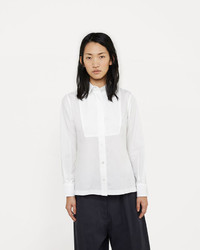 Sacai Cotton Shirt With Back Pleats