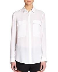 Helmut Lang Crepe Shirt