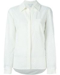 Diane von Furstenberg Plain Shirt