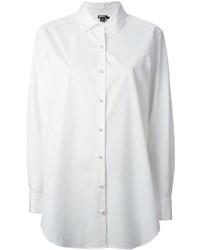DKNY Poplin Oversized Shirt