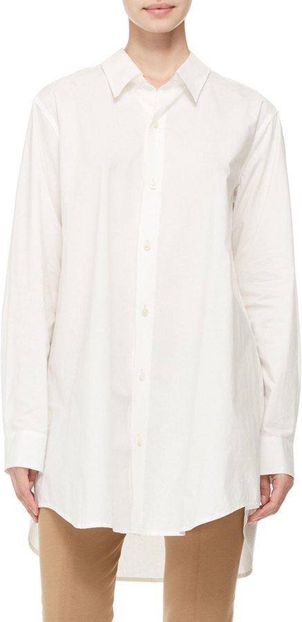 Donna karan oversized button down shirt where to buy Buy white dress shirt