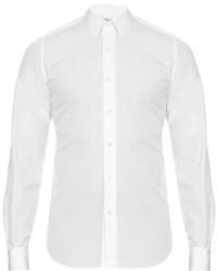 Valentino Double Cuff Cotton Poplin Shirt