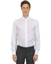 Ermenegildo Zegna Slim Fit Cotton Poplin Shirt