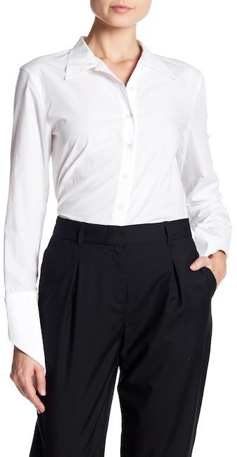 Robert Rodriguez Folded Cuff Business Shirt