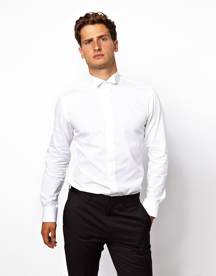 French connection notgoogle dress shirt white Buy white dress shirt