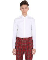 Gucci Stretch Cotton Poplin Classic Shirt