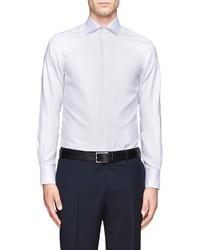 Nobrand Herringbone Texture Shirt
