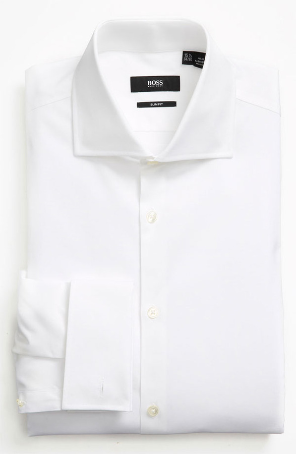 hugo boss boss slim fit dress shirt where to buy how