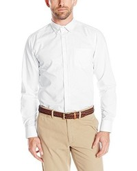 Izod Uniform Young Long Sleeve Oxford Shirt