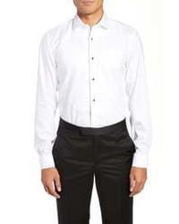 BOSS Jant Slim Fit Tuxedo Shirt