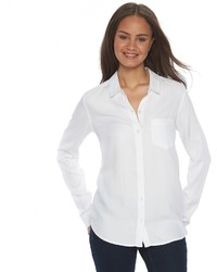 1f6f2f685 Women's White Dress Shirts from Kohl's | Women's Fashion | Lookastic.com