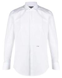DSQUARED2 Logo Print Cotton Shirt