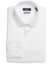 BOSS Marley Us Sharp Fit Solid Dress Shirt