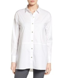 Eileen Fisher Organic Stretch Cotton Shirt
