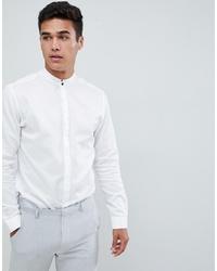 Jack & Jones Premium Smart Shirt With Formal Stand Collar