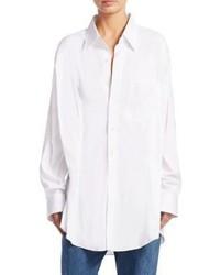 Vetements Secretary Button Front Shirt