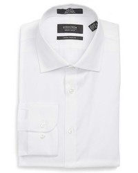 Nordstrom Shop Extra Trim Fit Non Iron Solid Dress Shirt