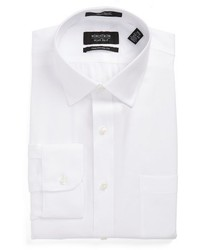 Nordstrom Shop Traditional Fit Solid Dress Shirt