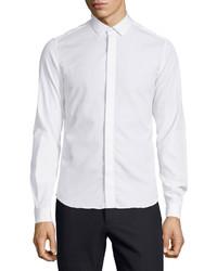 Valentino Slim Fit Dress Shirt White