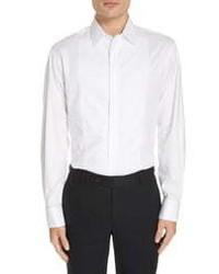 Emporio Armani Slim Fit Stretch Tuxedo Shirt