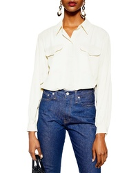Topshop Smart Pocket Shirt