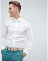 Pier One Smart Shirt In White