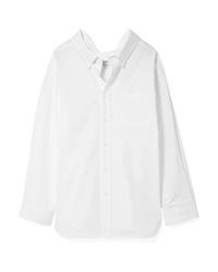 Balenciaga Swing Cotton Poplin Shirt