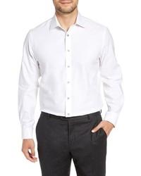 Nordstrom Men's Shop Tech Smart Traditional Fit Stretch Solid Dress Shirt