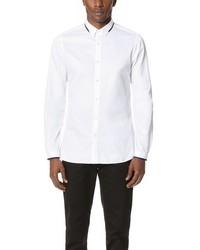 The Kooples Dress Shirt With Grosgrain Detail