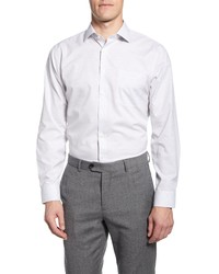 Nordstrom Men's Shop Trim Fit Non Iron Dot Dress Shirt