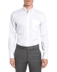 Nordstrom Men's Shop Trim Fit Non Iron Dress Shirt