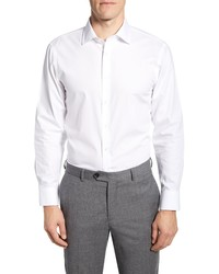 The Tie Bar Trim Fit Solid Dress Shirt