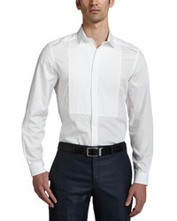 Versace Collection Long Sleeve Dress Shirt White