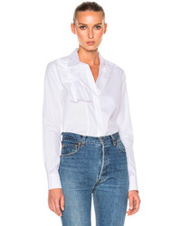 Victoria Victoria Beckham Knot Front Shirt In White