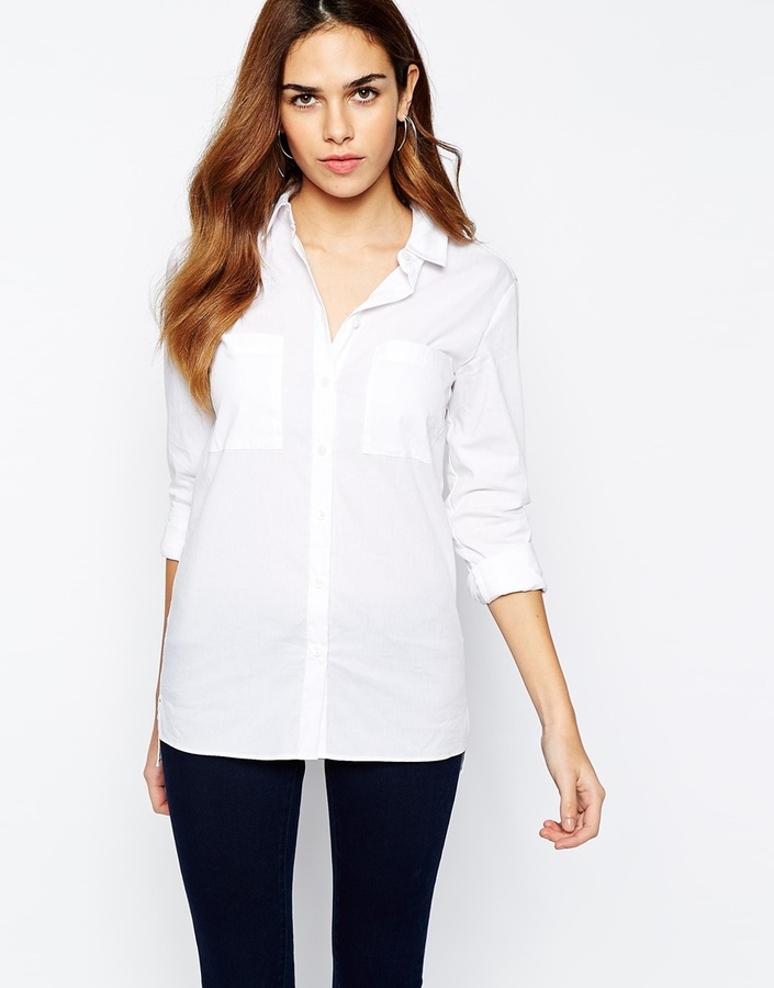 Warehouse White Boyfriend Shirt | Where to buy & how to wear