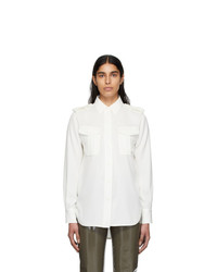 Rag and Bone White Caroline Shirt